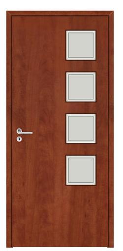 Egyedi méretű CPL fóliás beltéri ajtók